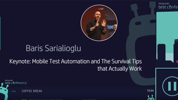 Belgrade Testing Conference 2017 – (Opening Keynote)